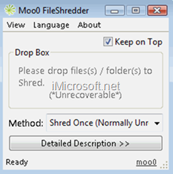 moo0 fileshredder delete files permanently