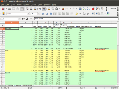 15 best free desktop and web based microsoft excel - Download open office calc for windows ...