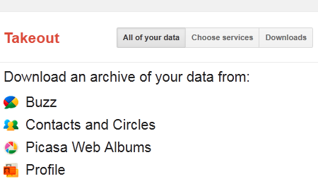 Google Takeout: Download Your Data From All Google Services