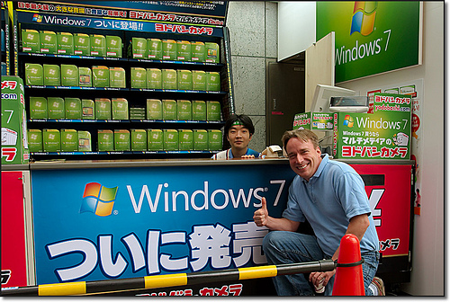 Linus Torvalds gives Windows7 a thumbs up