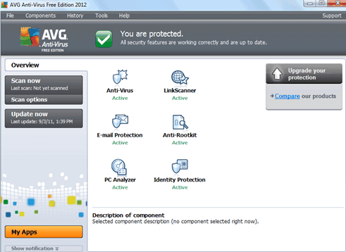 Avg internet security 2012 updated version + crack free.