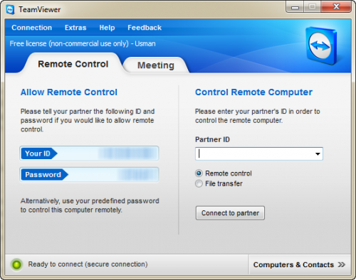 TeamViewer 7 Features