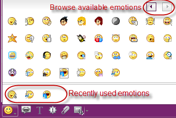 Yahoo Messenger 11.5 Smilies Emotions