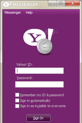 Y! Multi messenger: run multiple instances of yahoo messenger on.