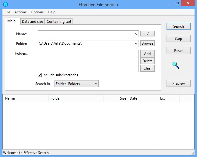 Effective File Search Is A Better Windows Search Alternative