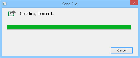 Creating torrent file