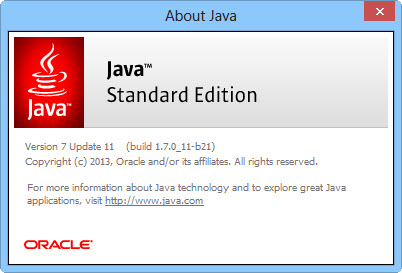 java runtime environment 1.7.0