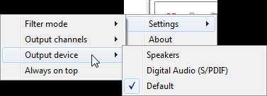 Sound Lock Volume Control Tool Settings