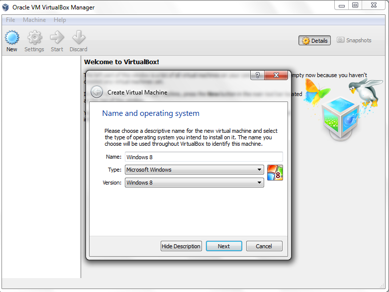 Creating Virtual Machines In VirtualBox [Complete Guide][Windows]