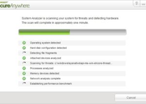 Webroot System Analyzer Scans Your PC For Problems
