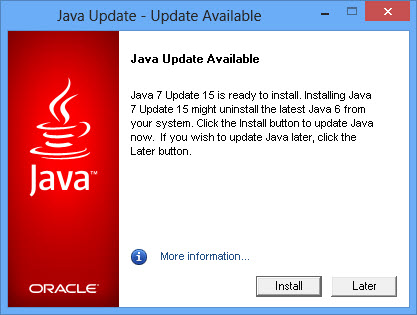 Java 7. 0 now available for download 404 tech support.
