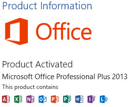 Fake Microsoft Office 2013 Activators And Product Key Generators