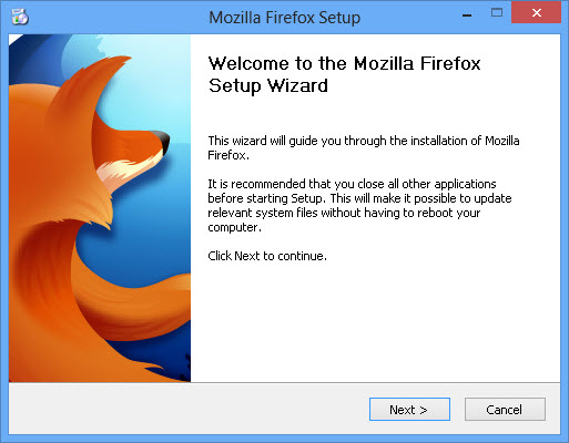 Welcome to Mozilla Firefox 19