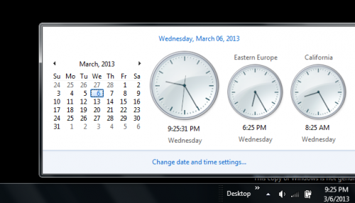 Show Multiple Clocks in Windows