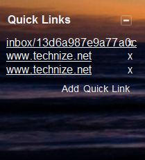 Add Quick Links in Gmail