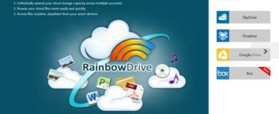 Add cloud storage in RainbowDrive