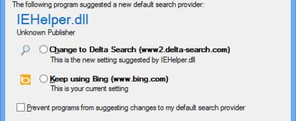 IEHelper dll warning
