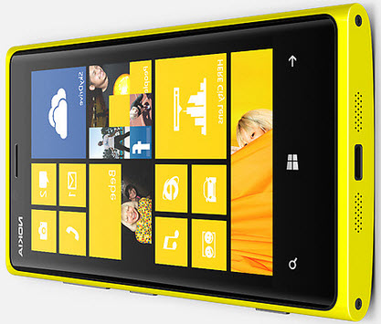 Windows Phone 8 on Nokia Lumia 920