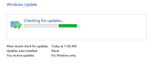 Configure Windows Update Settings In Windows 8