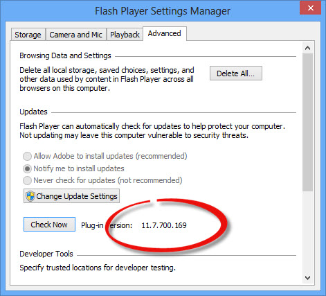 Adobe Flash Player 11.8 Offline Installers Direct Download Links