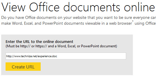How To Open Office Word, Excel, And PowerPoint Files In Any Web Browser