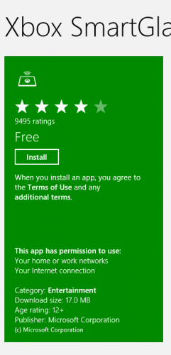Install Metro Apps from Windows Store