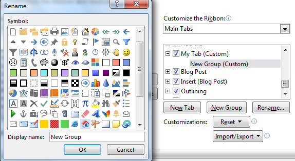 Create A Custom Tab In Office 2013 Easily