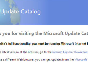 Download Windows Updates And Hotfixes Using Microsoft Update Catalog