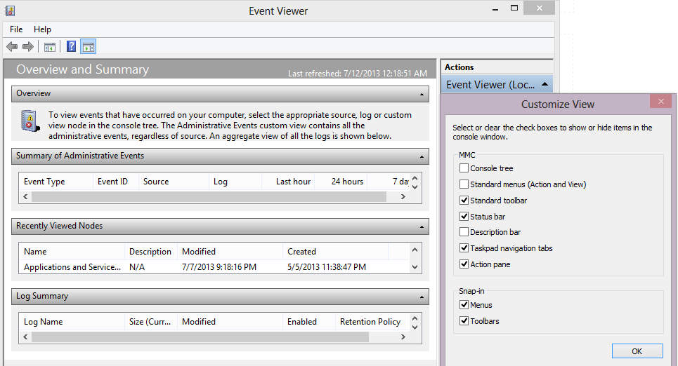 Windows Event Viewer Tips And Tricks