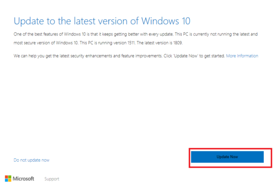 How to Update Windows 10 1